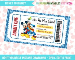 Disney World Ticketing