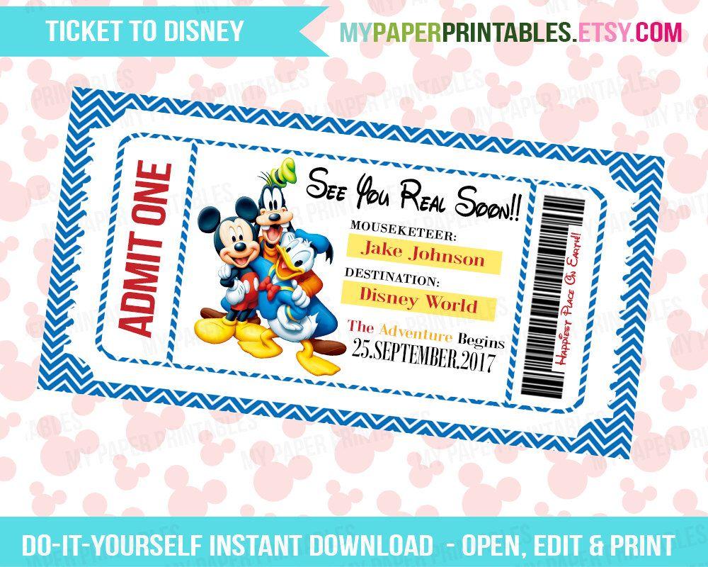 Disney World Ticketing