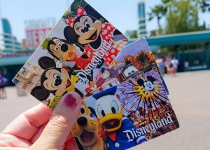 Ticket of Disneyland